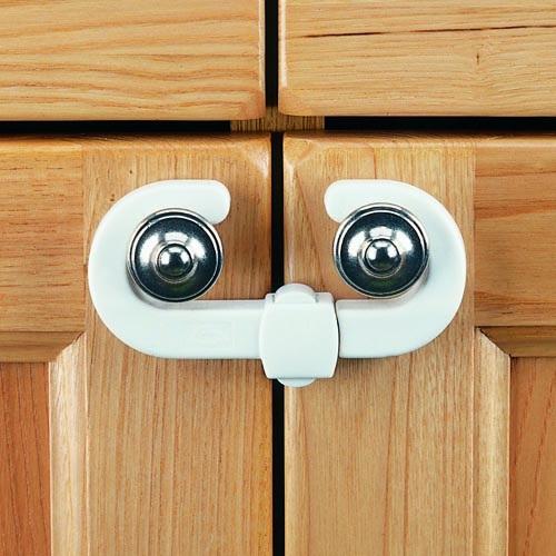 1 Clippasafe Cupboard Lock 6-Pack