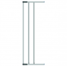 Swing Shut Extendable Gate Extension 18cm -Silver