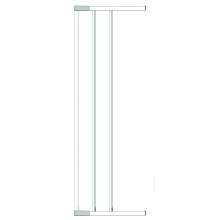 Swing Shut Extendable Gate Extension 18cm - White