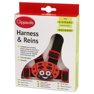 10 D Designer Harness and Reins Ladybird