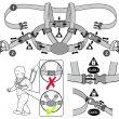 10 D Designer Harness Reins Website Illuistration