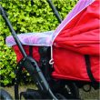 6 PRAM AND CARRYCOT INSECT NET WHITE Lifestyle2