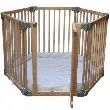 Natural Wood Play Pen