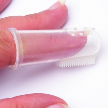 Finger Tooth Brush with Case