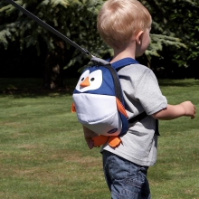 Toddler Daysack - Penguin - with Lead Rein