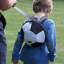 Toddler Daysack - Football - with Lead Rein